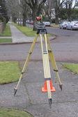 Surveyors Prism — Stock Photo