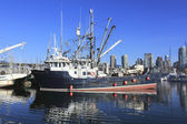 Large Fishing Schooner — Stock Photo
