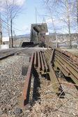 鉄道トラック — ストック写真