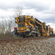 Railway Track Maintenance Vehicle — Stock Photo