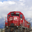 Canadian Pacific Train - Stock Photo