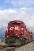 Canadian Pacific Train — Stock Photo