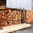 Stock Photo: Raw Red Cedar