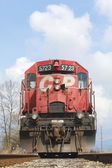 Canadian pacific tåg — Stockfoto