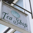 Traditional Tea Shop Signage — ストック写真