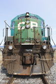 Close Up of Old CP Train — Stock Photo