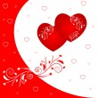 Vector de stock : Valentines background
