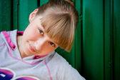 девочка-подросток — Стоковое фото