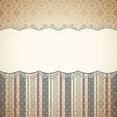 Vintage floral background — Stockvector