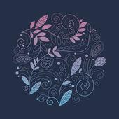 ビンテージ花の組成、美容飾り — ストック写真
