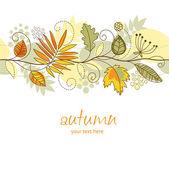 Autumn decor — Stock Vector