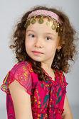 Retrato de niña linda — Foto de Stock