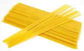 Uncooked pasta — 图库照片