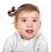 Ritratto di ragazza carina — Foto Stock