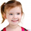Portrait of happy smiling little girl — Stock Photo #9480925