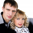 Stock Photo: Portrait of happy young couple