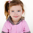 Portrait of cute smiling little girl — Stock Photo #9538742