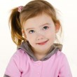 Portrait of cute smiling little girl — Stock Photo #9767070