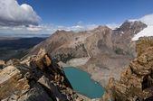 Laguna sucia in los glaciares national park, patagonia — Stock Photo