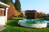 Autumn in the village. — Stock Photo