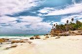 Caribbean Turks & Caicos Half Moon Bay — Stock Photo