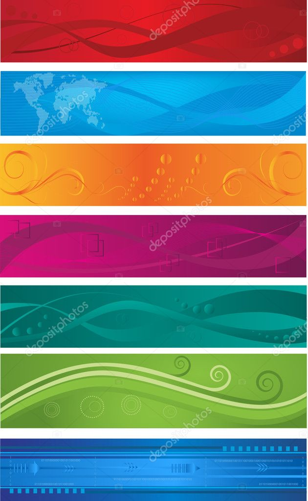 Web banners — Stock Vector #9222757