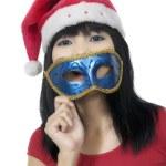 Christmas Mask — Stock Photo #10494344