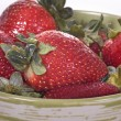 Stock Photo: Strawberry On Bowl