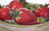 Strawberry On The Bowl — Stock Photo