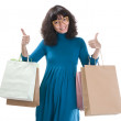 Happy Shopping Woman — Stock Photo #8885020