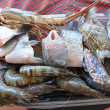 Seafood. This photo was taken on the island of Koh Samui — Stock Photo