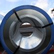 Stock Photo: Rolled steel