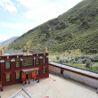 Buddhist monastery in Tibet - Stockfoto