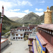Buddhist monastery in Tibet — Stock Photo #9569854