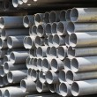 Metal profiles tube — Stock Photo