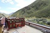 Buddhist monastery in Tibet — Stock Photo