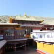 Buddhist monastery in Tibet — Stock Photo