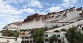 Fortress in Lhasa — Stock Photo