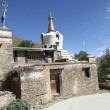 Buddhist monastery in Tibet - Foto Stock