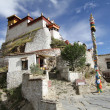 Buddhist monastery in Tibet — Stock Photo #9674655