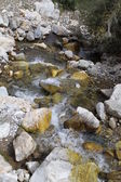 A small mountain river — Stock Photo