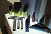Metal profiles tube — Stock Photo