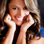 Happy woman portrait — Stock Photo