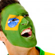 Brazilian man shouting - Photo