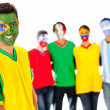 Stock Photo: Group of Latin American