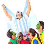 Argentina as champion — Stock Photo