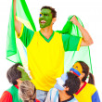 Brazil as champion — Stock Photo