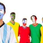 Argentina leading Latin group — Stock Photo