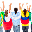 Happy Latinamerican group — Stock Photo