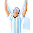 Stock Photo: Argentinemcelebrating